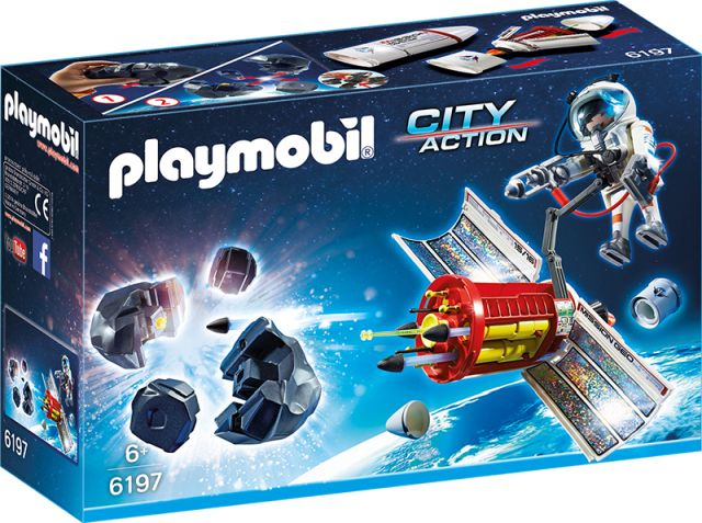 Playmobil-Distrugatorul de meteoriti