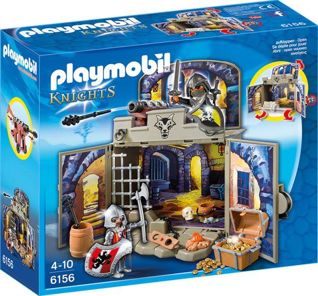Playmobil-Camera secreta a cavalerilor,cutie joaca