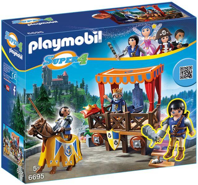 Playmobil-Super 4,tribuna regala