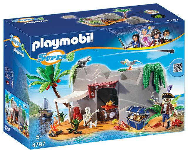 Playmobil-Super 4,pestera piratilor
