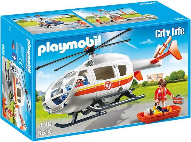 Playmobil-Elicopter medical de urgenta
