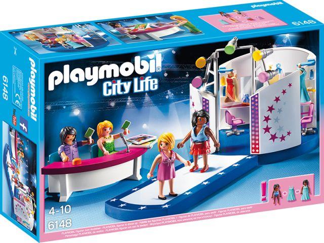 Playmobil-Manechine pe podium