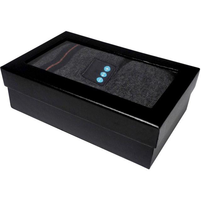 Set caciula cu casti Bluetooth si manusi pentru ecranele tactile