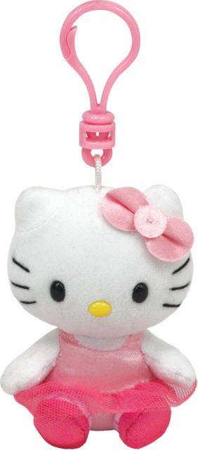 Plus TY Sanrio Hello Kit balerina,8.5cm
