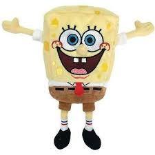 Plus TY Nickelodeon-Sponge Bob,15cm