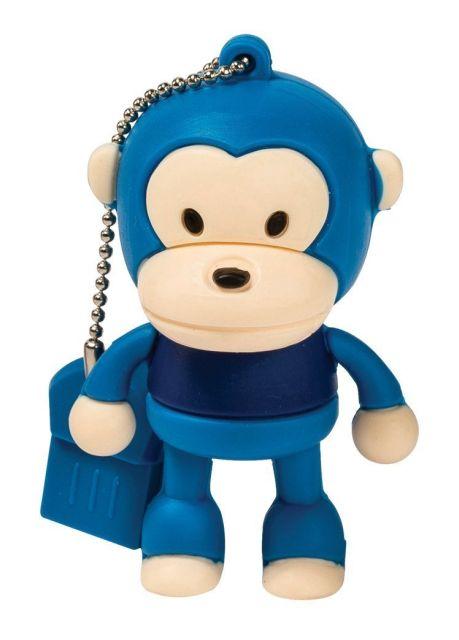 Stick de memorie 8GB,maimuta albastru