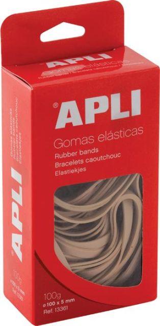 Elastice,80mm,Apli,100gr