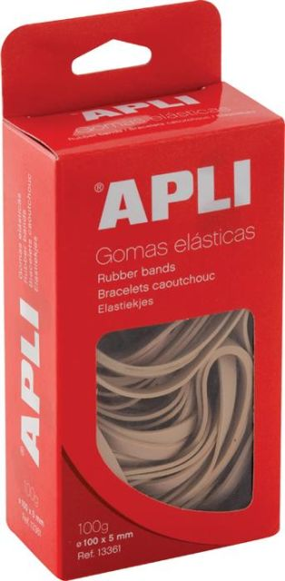 Elastice,200mm,Apli,100gr