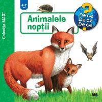COLECTIA MAXI ANIMALELE NOPTII 4-7 ANI
