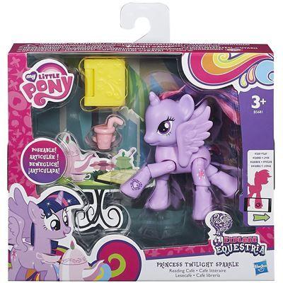 MLP-Figurina ponei,articulat,Explore Equestria