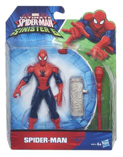 Spiderman-Figurina,15 cm,cu accesoriu lupta