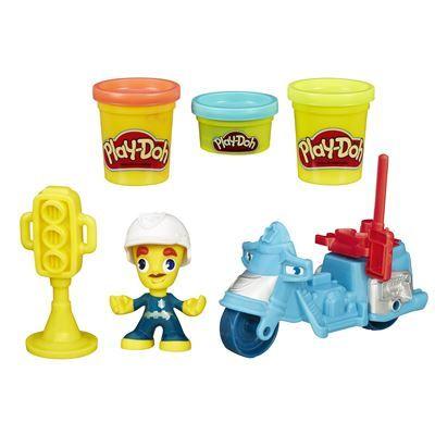 PlayDoh-Set creatie,Town,personaj cu vehicul