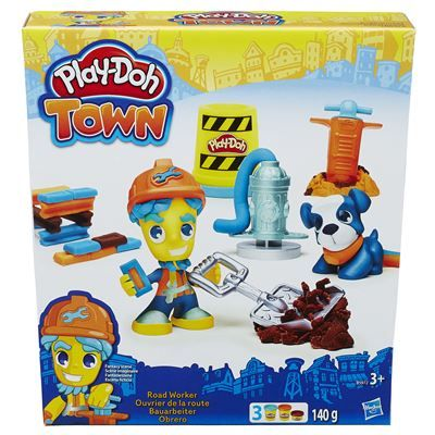 PlayDoh-Set creatie,Town,personaj cu animalut