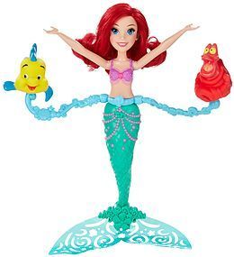 Papusa Disney,Princess,Ariel,se invarte si innoata
