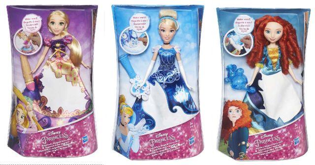 Papusa Disney,Princess,rochie magica