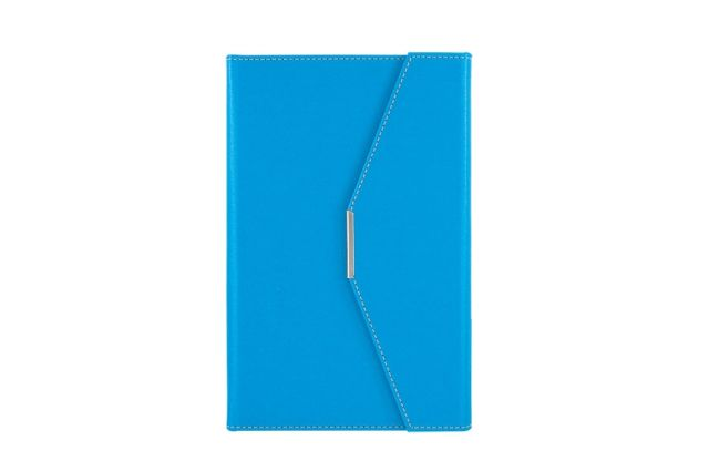 Agenda plic A5,Ultra,122file,sky blue