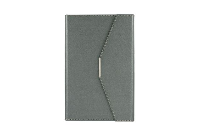 Agenda plic A5,Ultra,122file,grey