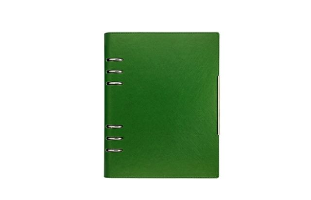 Organizator A5,Alicante,6 inele,kelly green