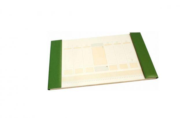 Mapa de birou,38*58cm,kelly green