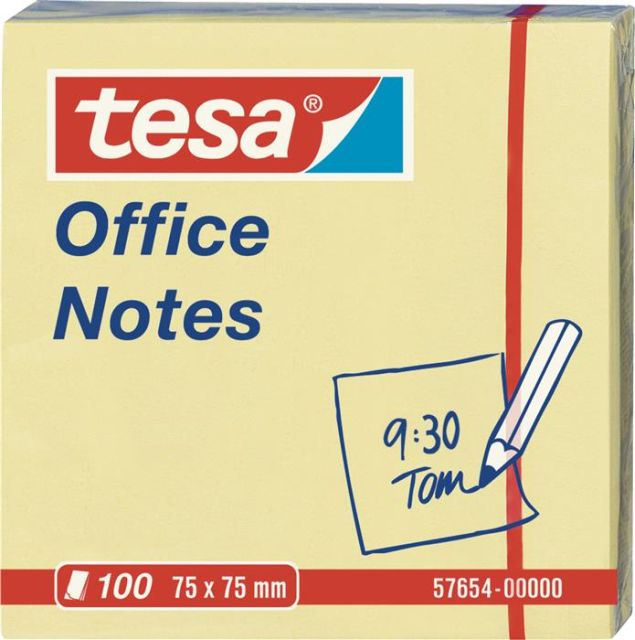 Notite adezive Tesa,75x75mm,100file
