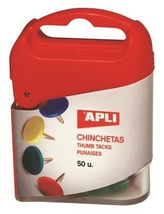 Pioneze Apli,colorate,50buc/set