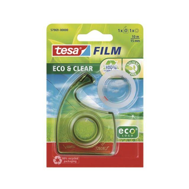 Banda adeziva 15mmx10m,Tesa,clear,EcoLogo