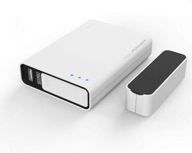Acumulator portabil 10400mAh, negru
