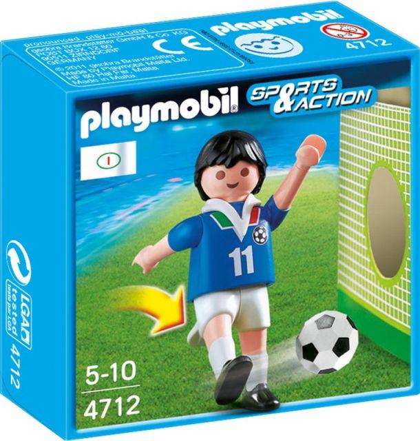 Playmobil-Jucator fotbal,Italia