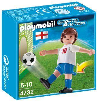 Playmobil-Jucator fotbal,Anglia
