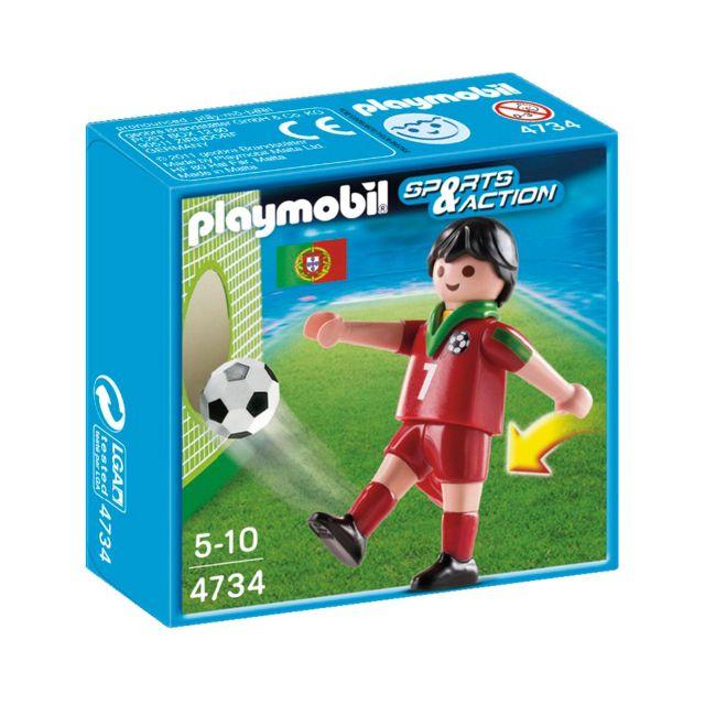 Playmobil-Jucator fotbal,Portugalia