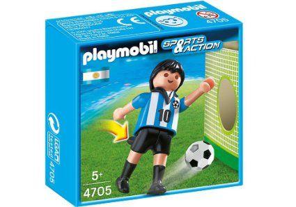 Playmobil-Jucator fotbal,Argentina