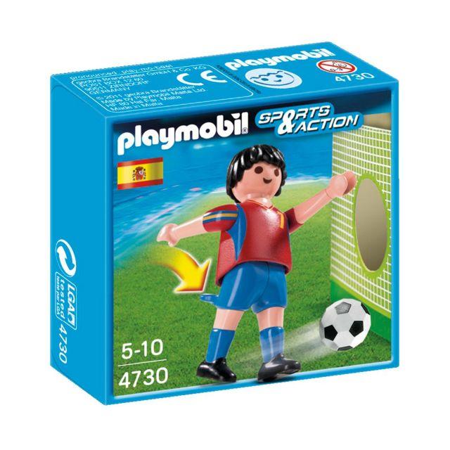 Playmobil-Jucator fotbal,Spania