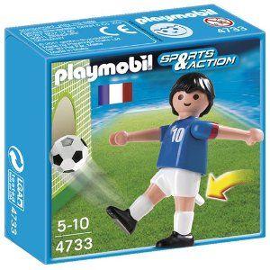 Playmobil-Jucator fotbal,Franta