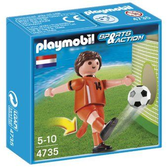 Playmobil-Jucator fotbal,Olanda