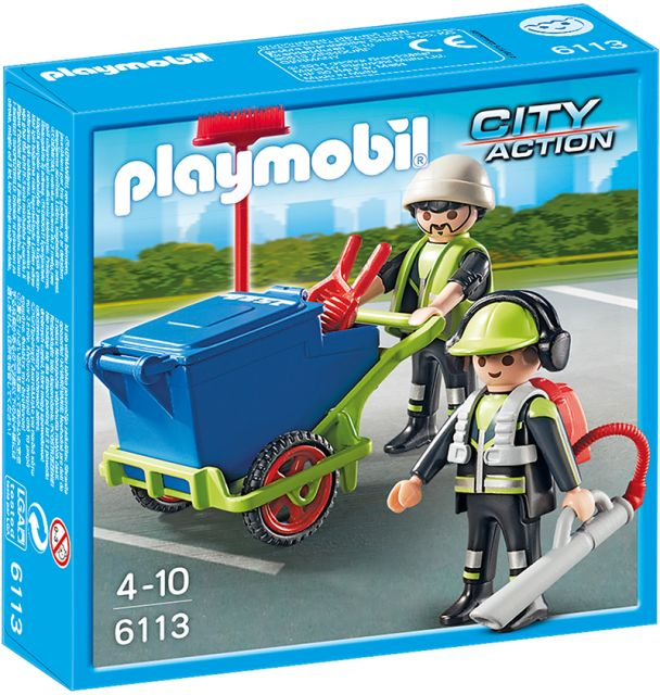 Playmobil-Echipa de salubritate