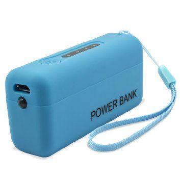 Acumulator portabil 2000mAh, albastru