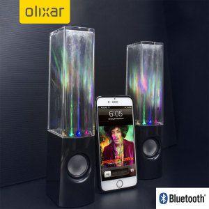 Boxe Stereo Bluetooth cu apa si leduri