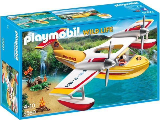 Playmobil-Avion pentru incendii