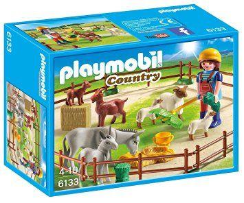 Playmobil-Tarc cu animale de la ferma