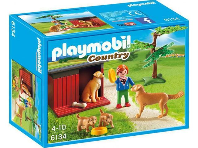 Playmobil-Catelusi cu jucarie