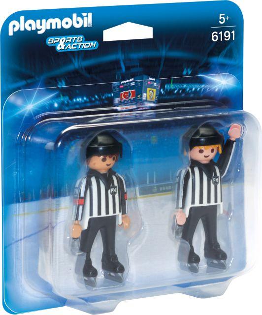 Playmobil-Echipa de arbitraj la hochei
