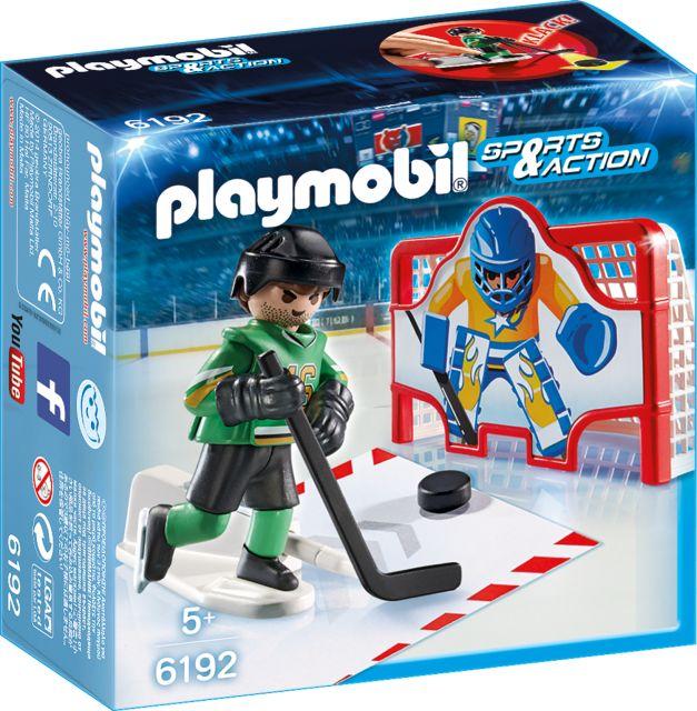 Playmobil-Poarta de hochei