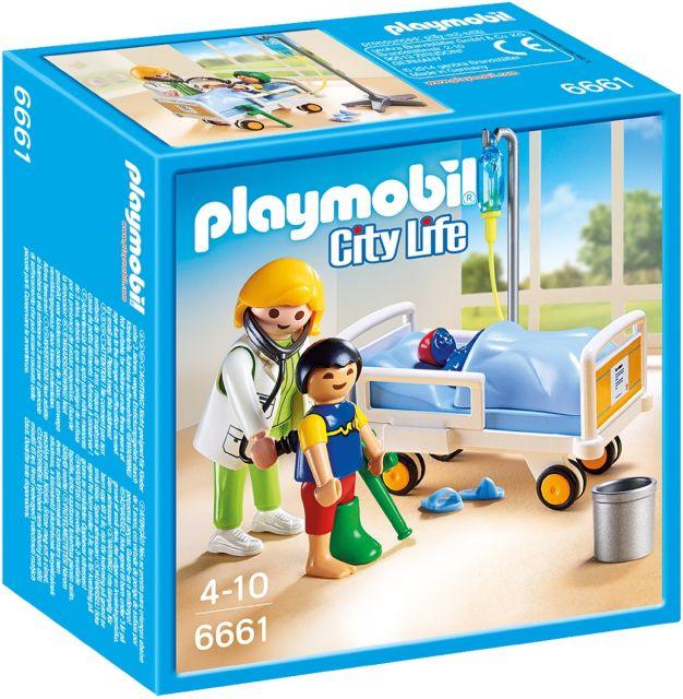 Playmobil-Doctor si copil