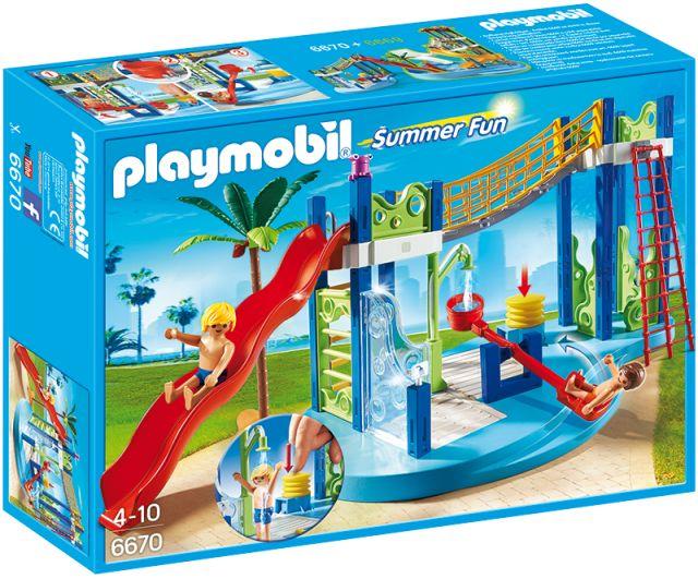 playmobil-Aqua parc zona de joaca