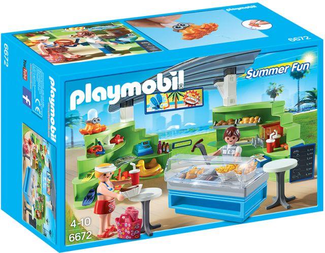Playmobil-Snack bar