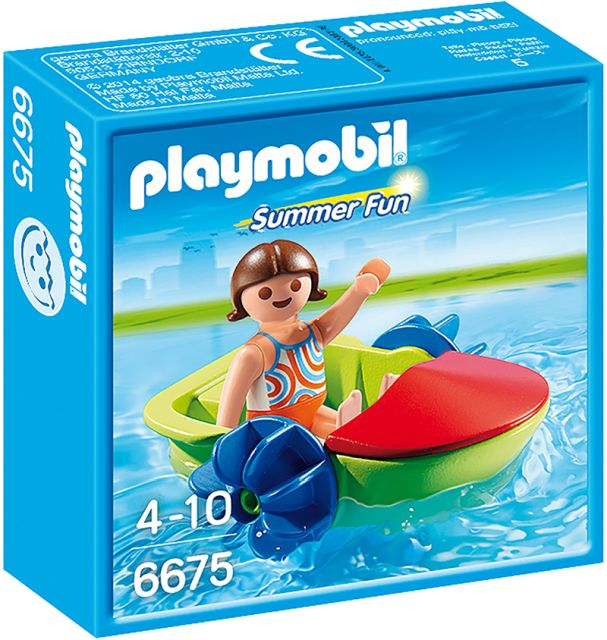 Playmobil-Copilul cu hidrobicicleta
