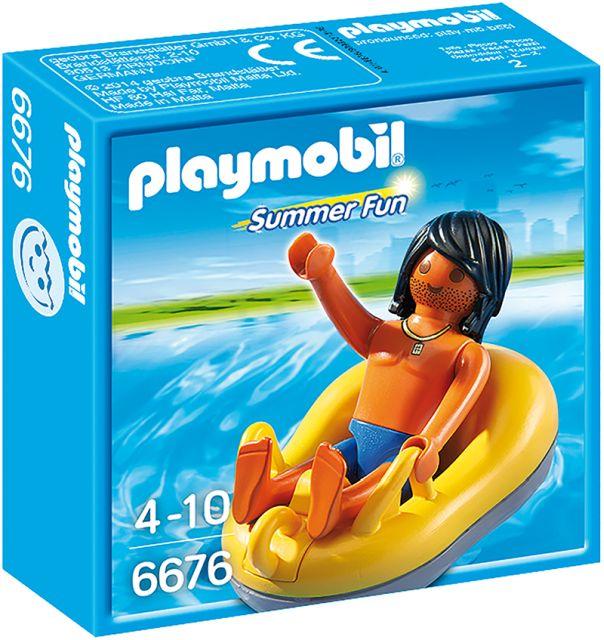 Playmobil-Barcuta pentru rau