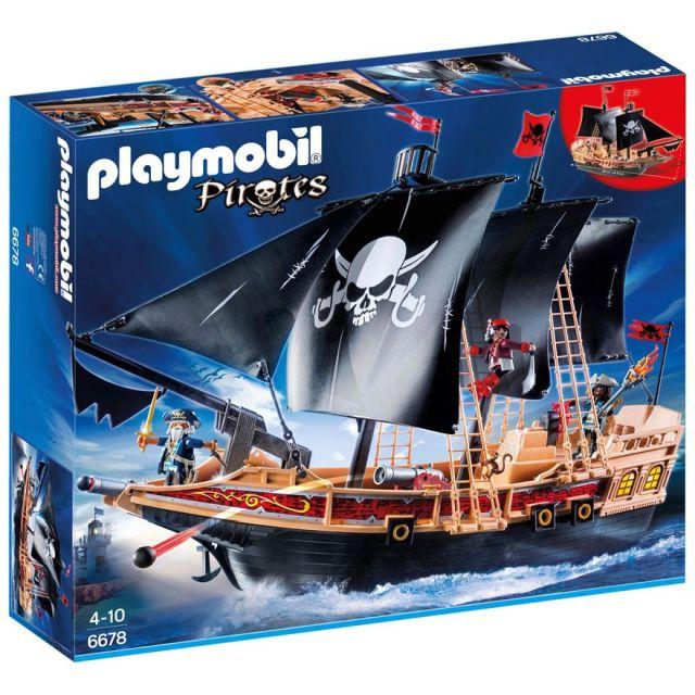 Playmobil-Corabia piratilor