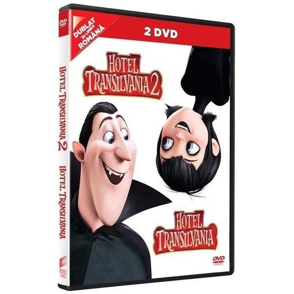 HOTELTRANSYLVANIA 1 DVD +  HT 2 DVD