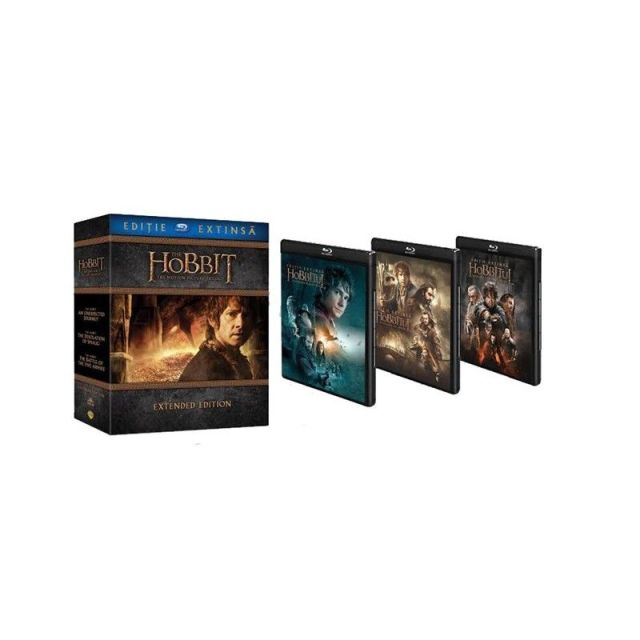 BD: HOBBIT TRILOGY  Extended Edition (9 disc)